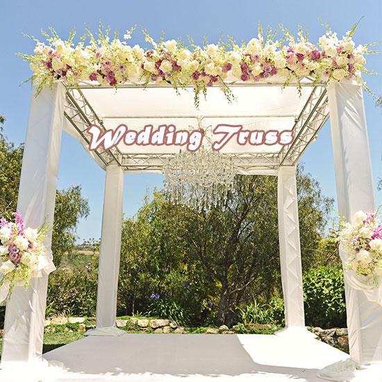 Wedding Truss Setting