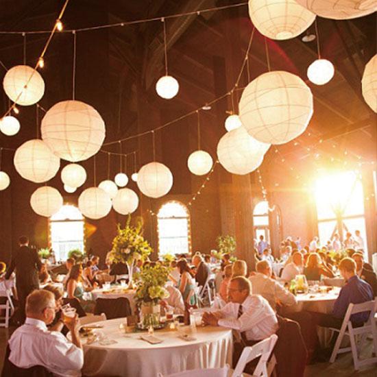 Wedding tent decoration - Lanterns